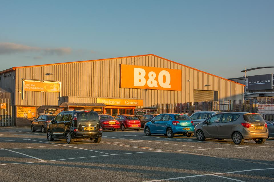 Closure plan: B&Q Pembroke Dock (Pic Mike Hillen/Herald)