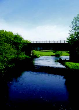 Disused railway bridge at Lampeter