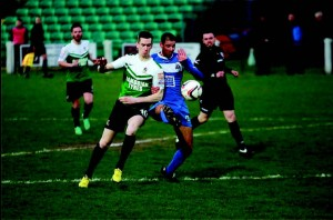 Aber's Chris Venables: Pressured by Bluebirds Nicky Palmer