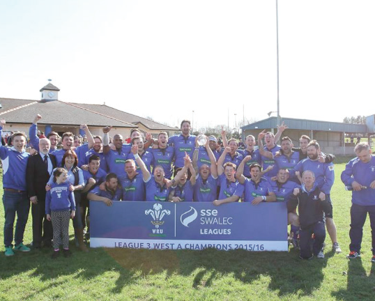 Haverfordwest RFC: Lift the trophy