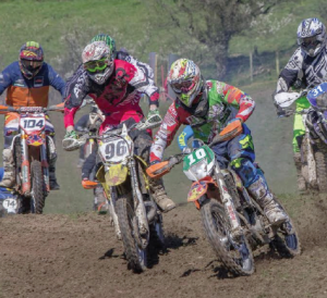 No 10 Iwan Rees from Crymych: On his KTM 350cc