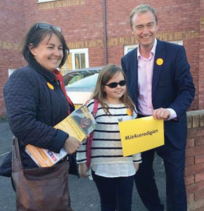 The Grand Inquisitor: Catryn with Tim Farron and Liz Evans