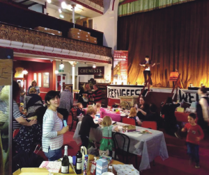Aberaid and Aber 2 Calais raise funds: Two groups recently threw a party to raise money for refugee children in Calais and Dunkirk