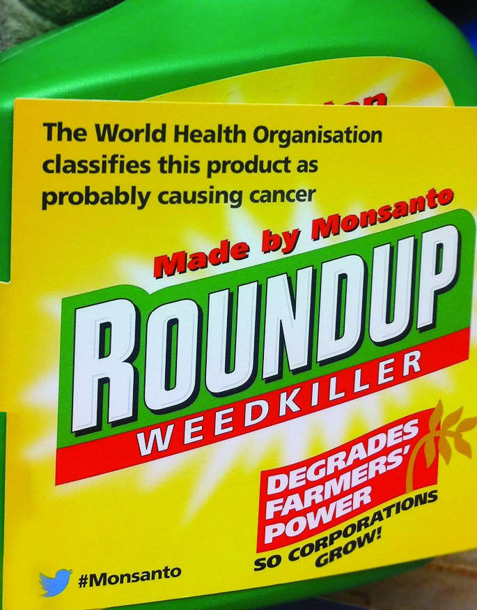 Roundup contains 'probable carcinogenic': Aberystwyth activists protest the sale of the product