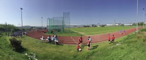 Dyfed Schools Athletics: The scene at Llanelli last week