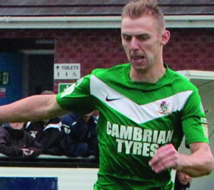 Craig Williams: Remains an Aberystwyth player