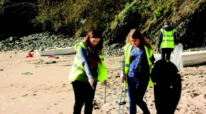 New Quay: Litter warriors hard at work