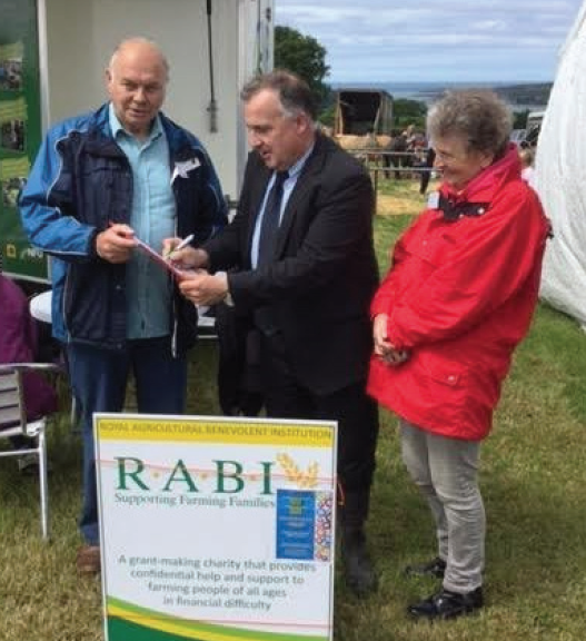 "Moarkr.k"" Williams MP: With RABI Ceredigion at the Cardigan Agricultural Show"