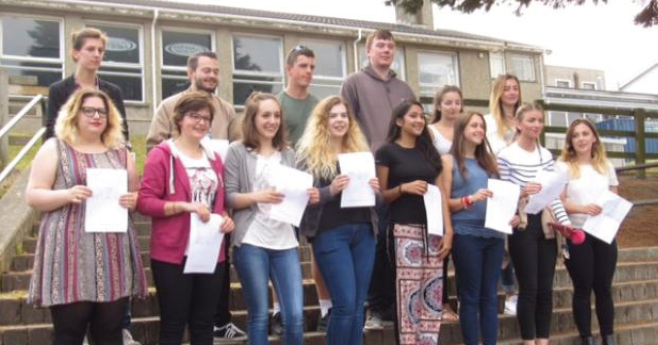 Ysgol Aberaeron students: Celebrating their success