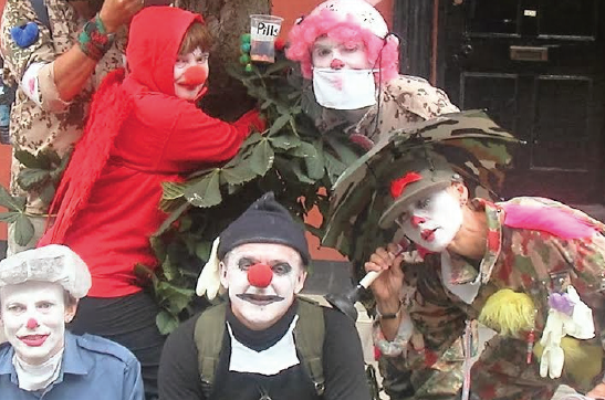Clowns in Aber: Defending Bronglais