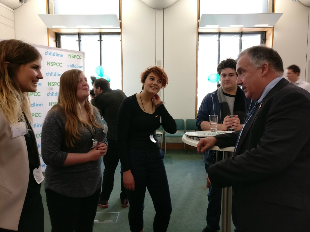 Mark Williams: At the 30th anniversary of Childline