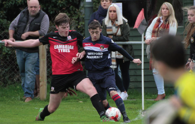 Arron Lemon: Scored a penalty to double Penrhyncoch's lead on Saturday