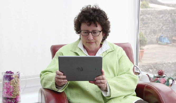 Elin Jones: Raised concerns about broadband in the county