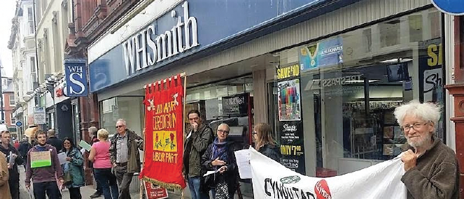 WHSmith: Will the weekly picket continue?