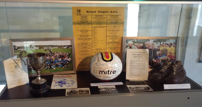 Part of the Sporting History Exhibition: At the museum